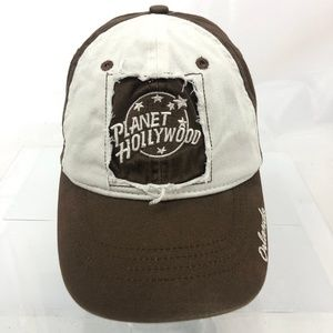 PLANET HOLLYWOOD Orlando Vintage 1998 Brown Hat